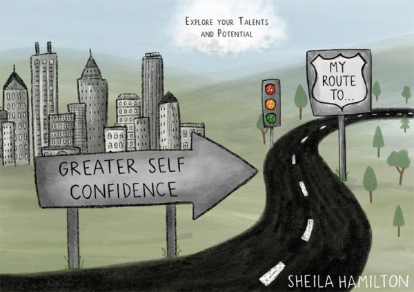 Sheila Hamiltons' book My Route to Greater Self Confidence